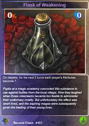 465 Flask of Weakening (F)