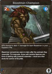 339 Beastman Champion