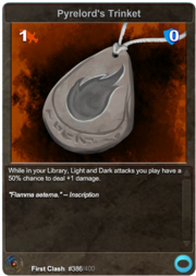 386 Pyrelord's Trinket