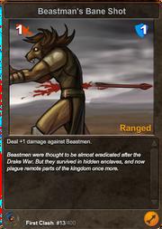 13 Beastman's Bane Shot