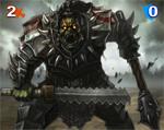 440 Orc Warlord Mini