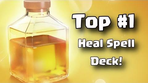 Clash Royale • Best Heal Spell Deck! • Arena 10 11