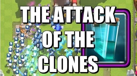 Clone Spell - Cloning Skeleton Army & Minion Horde - Clash Royale-0