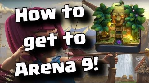 Video ★ How To Get To Jungle Arena ★ Arena 9 Best Deck