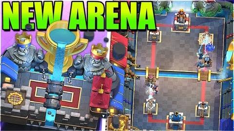 NEW LEGENDARY ARENA 11 HOG MOUNTAIN CLASH ROYALE