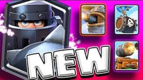 New 4 cards ..Mega knight and the others..