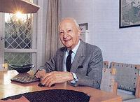 Photograph of Witold Lutosławski by Włodzimierz Pniewski and Lech Kowalski