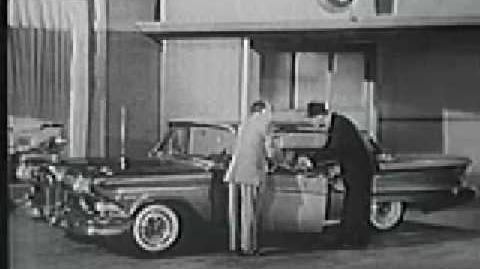 50's TV Edsel Commercial (1957)