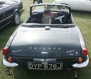 Triumph Spitfire MK3 rear