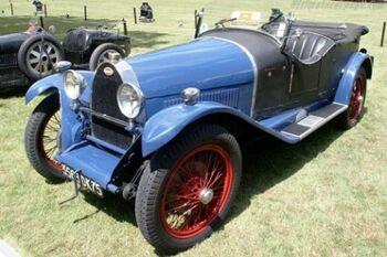 Bugatti Type 30 Kelsch Torpedo, Chassis 4314 at the 2002 Louis Vuitton Classic, WM