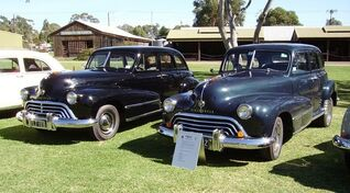 1948 Oldsmobile 66 Ace Sedn's by Rohan Russel -0