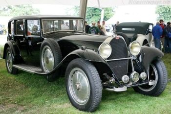 Bugatti Type 41 Royale Park Ward Limousine, Chassis 41131, at the 2007 Goodwood Festival of Speed. WM