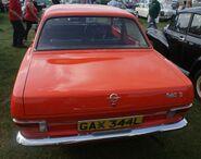 Opel Kadett rear