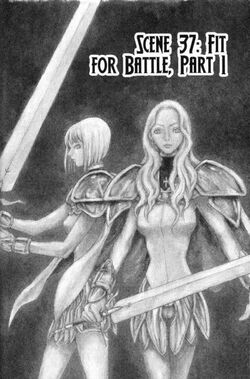Claymore Chapter 37 Cover