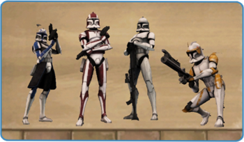 Clone Trooper Decal
