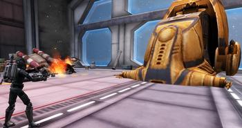 Player vs Tank