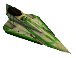 Green Starfighter