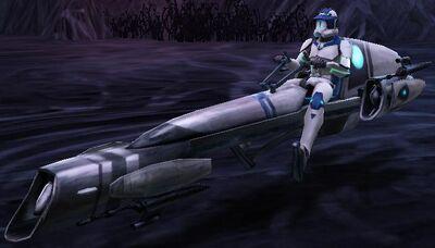 Orion on Umbaran Speeder 2