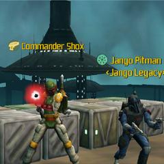 Commander Shox & Jango Pitman