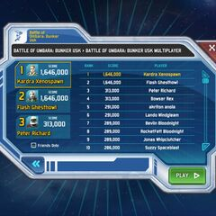 As of January 25th, 2014, I currently hold 1st place in Bunker Usk Multiplayer!