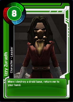 Izzy Zuruoth Card Commander
