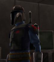 Nau'ur in trooper armor