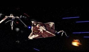 Kalin in Jedi Starfighter