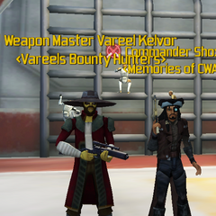 Commander Shox & Vareel Kelvor