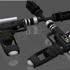 A'den's Verpine shatter guns