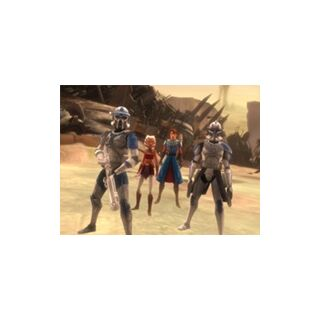 Anakin Skywalker, Ahsoka Tano, Rex & Jack