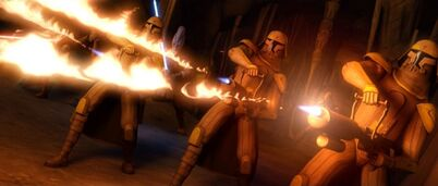Flamethrower Troopers