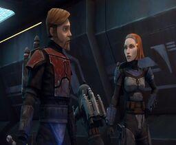 Bo-Katan Obi-Wan Kenobi Zacto