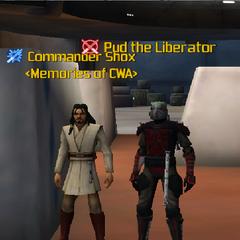 Commander Shox & Pud