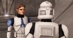 Luke and clone 3