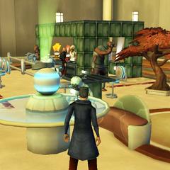 Commander Shox at Calm Commander's Cantina