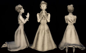 Lady Comstock Statues