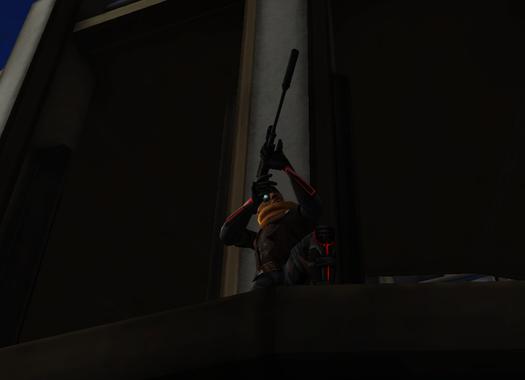 Assassin Cruncher sniping Flash