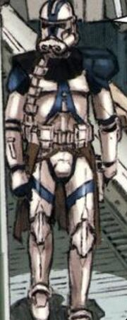 One of the clone commanders that served during the clone wars with me