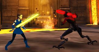 Duel in the Sith Academy