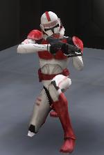Shock trooper crouch