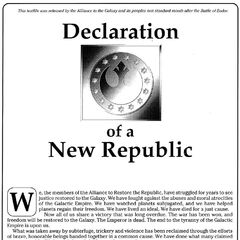 Declaration of the New Republic