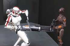 Jek rotary cannon commando droid CWA
