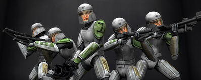 Heavy Weapons Troopers