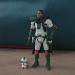 Commander Shox Figure without Helmet