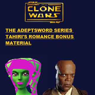 Cover of the romance bonus book in the Adeptsword Series.