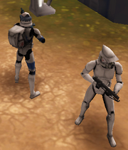 Aman and ARF Trooper