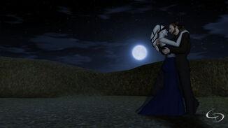 Éclairé par la lune roman d'amour