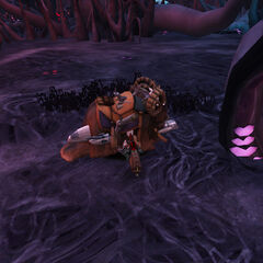 Notice how the rancor is the the background of both of these pictures? o_o