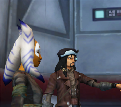 Commander Shox Character 98