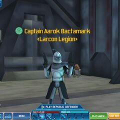 On August 19, 2013, the new Larcon Legion's name is finally approved!